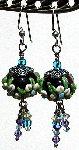 Amethyst Garden Earrings