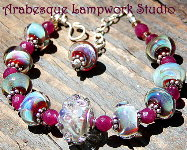 Glacial Blush Bracelet...Boro