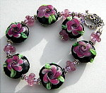 Purple Posey Bracelet