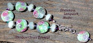Rainbow Chintz Bracelet