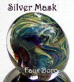 Silver Mask Faux Boro